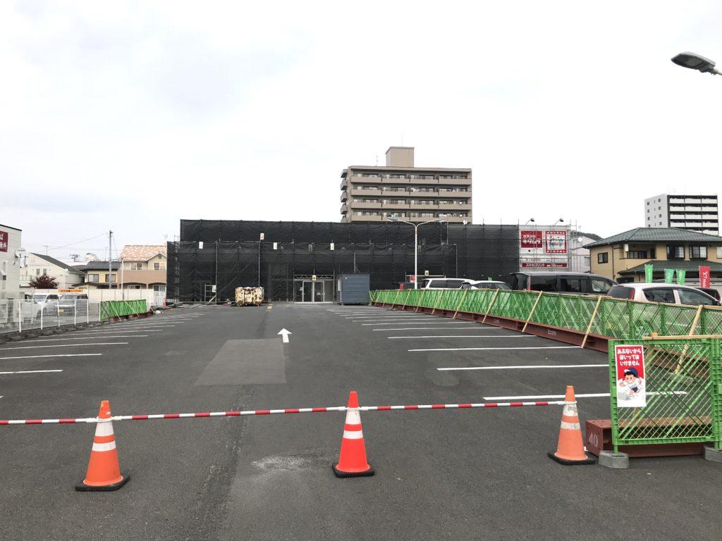 改装工事中のリオンドール 野田店