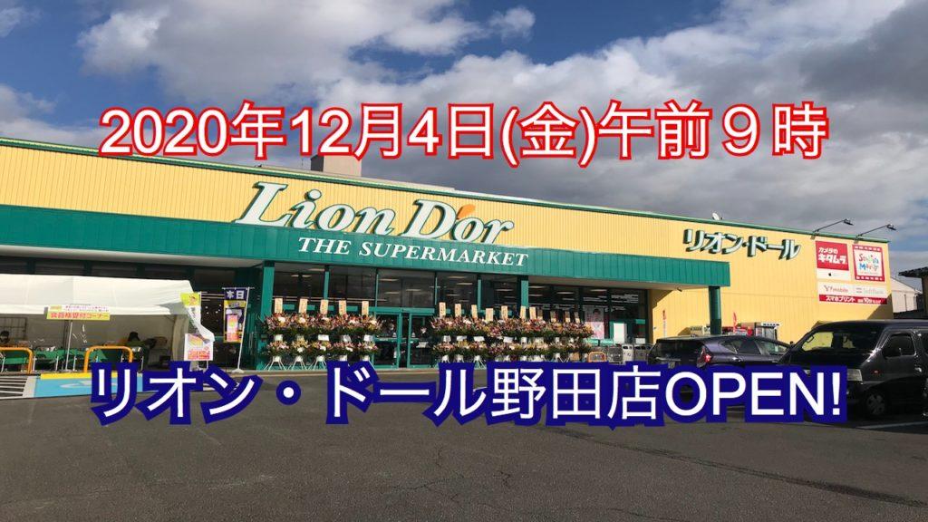 リオンドール 野田店